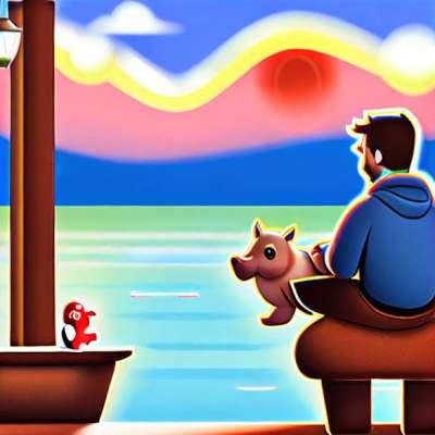 अपने बच्चे की ड्राइंग के लिए दुनिया भर की यात्रा करें!