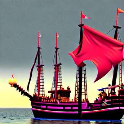 LEGO ... beim Boarding mit Fluch der Karibik
