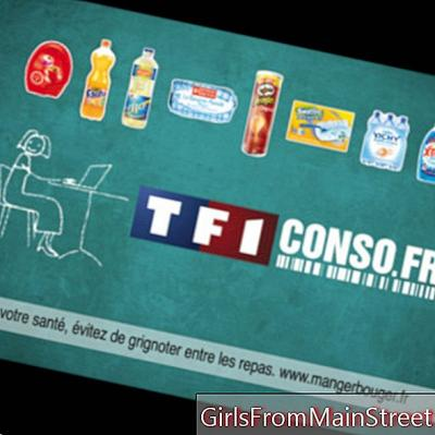 Cetakan kupon di laman web baru TF1conso.fr