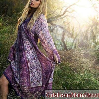 Få et elegant hippieutseende