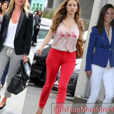 Pippa Middleton, Kate Moss dan Kelly Brook: kebodohan jeans langsing