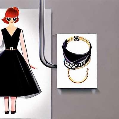 Egy kis fekete ruha egy előestéjükkel barátaival
