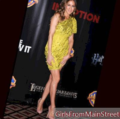 Look of the day Sarah Jessica Parker in Lanvin