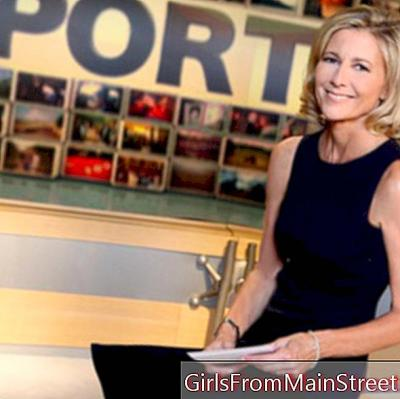 Claire Chazal shows the low, for the good cause