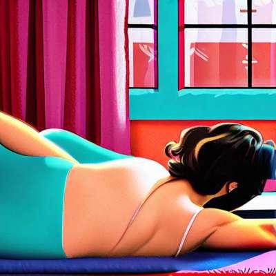Princesa Tam Tam perilo: ultra senzualna oglaševalska akcija
