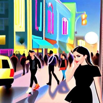 Titta på dagen: Dianna Agron från Glee i Stella McCartney