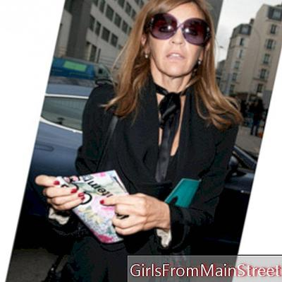 Modni modeli so v žalovanju, Carine Roitfeld zapusti Vogue