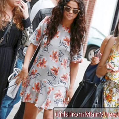 Lihat hari: Selena Gomez semulajadi cantik di Los Angeles