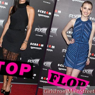 Top Scream 4 Specijalni flop: Courteney Cox vs. Emma Roberts
