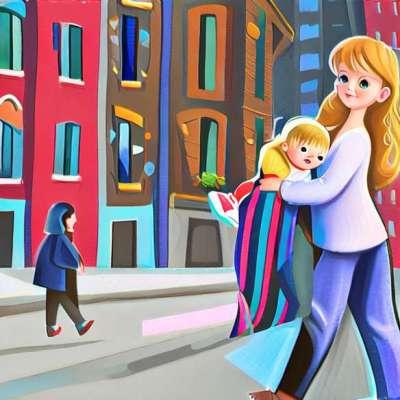 Jessica Alba, κομψή μητέρα και κόρη;