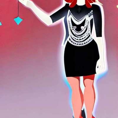 Kristen Dunst, zářící v malých černých šatech Proenza Schouler