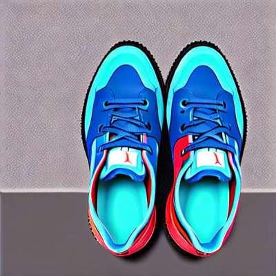 Roland-Garros skor blå
