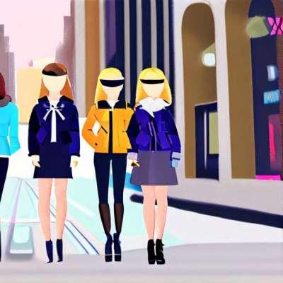 Mid-season look: blom dit tøj!
