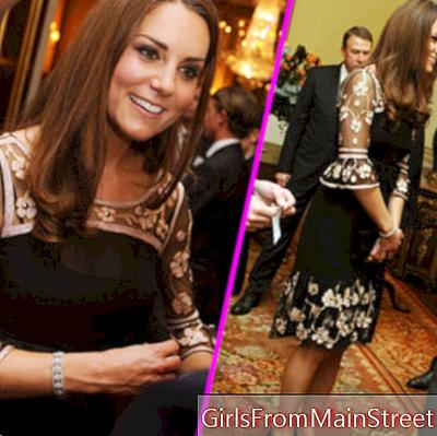 Kate Middleton in Alice Temperley dress, her first fashion faux pas?