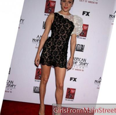 Chloe Sevigny: her lace dress at the premiere of American Horror Story