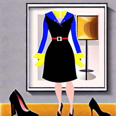 1 חתיכה / 5 נראית: השמלה השחורה הקטנה שלי לערב נסיכה
