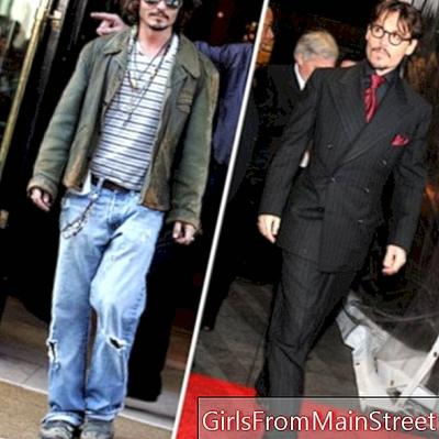 Johnny Depp: fan av hans tilbehør!