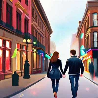 Demi Moore shopping på Hermès