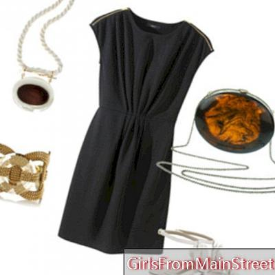 En lille sort kjole til en eve i solen