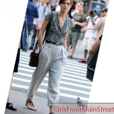 Keira Knightley in summer boyish look