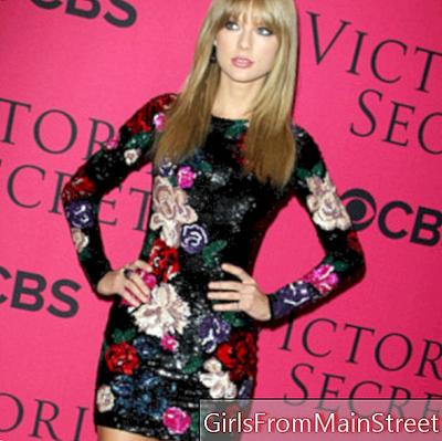 Look of the day: Taylor Swift interpreta a los ángeles de Victoria's Secret en Nueva York