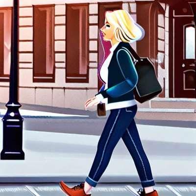 Miranda Kerr chic i blyantkjørt og Givenchy taske