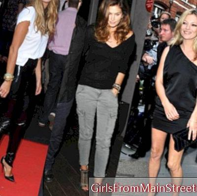 Kate Moss, Cindy Crawford, Elle McPherson, 3 ex supermodel viršuje!