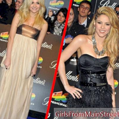 Top Flop: Shakira ja Pixie Lott