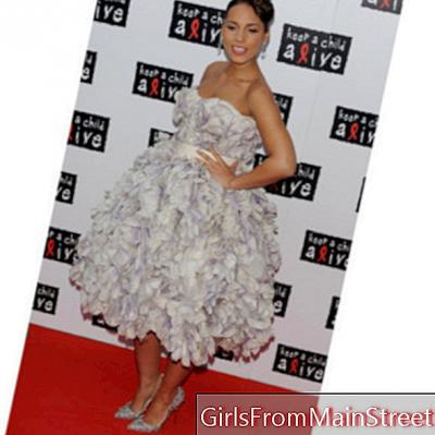 Se på dagen: Alicia Keys en fremtidig mote mor i Dolce & Gabbana