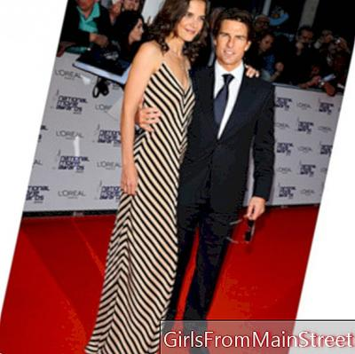 Look of the day: Katie Holmes so glam '