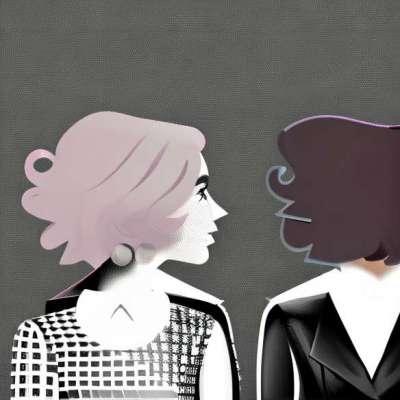 Foto: Lady Gaga, zwei Moderisse wenn nichts!