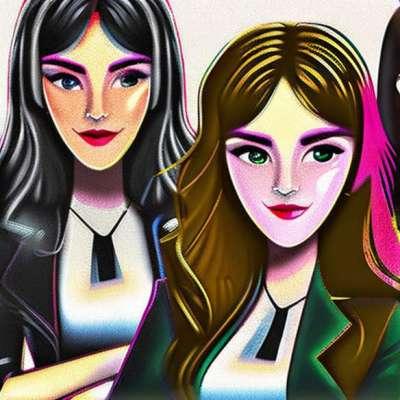 Martine Aubry und Ségolène Royal, ein politisches Modeduo