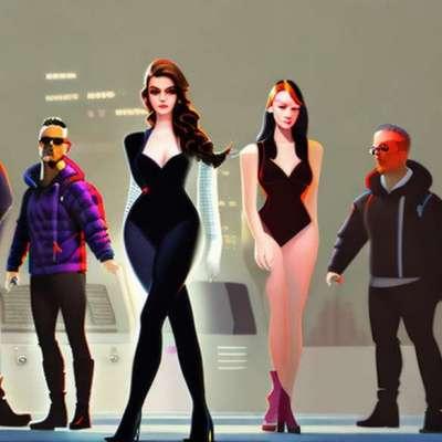 Lady Gaga w Giorgio Armani na planie American Idol