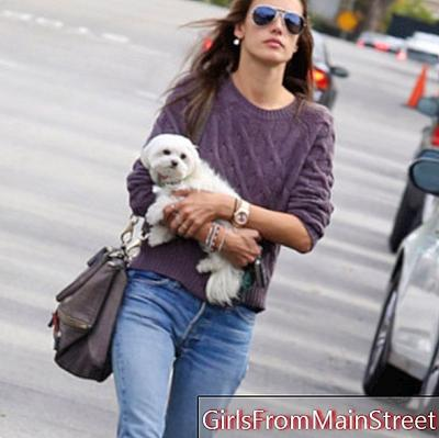 Look of the day: Alessandra Ambrosio in Los Angeles casual mode