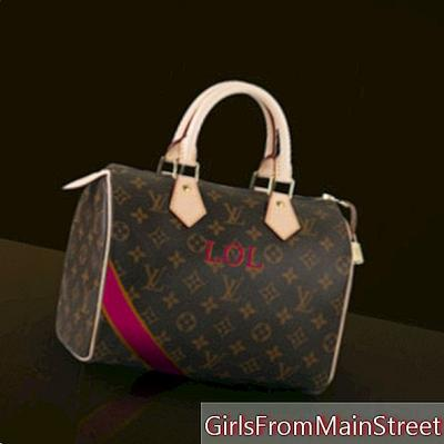 Objek LOL bulan ini: tas Louis Vuitton khusus