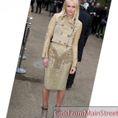 Lihatlah hari: Kate Bosworth di gadis mode Burberry!