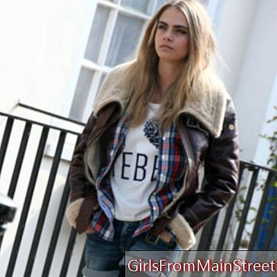 تبحث كارا ديليفين عن إطلاق Pepe Jeans الجديد لها