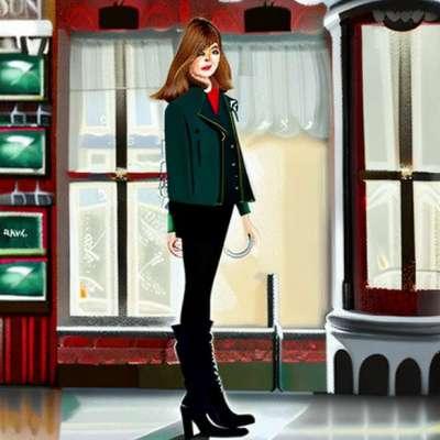 Fashion flop of the day: Beyoncé e il suo ensemble di mosaici a New York