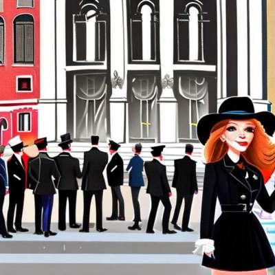 Miranda Kerr, seksi stjuardesa u Australiji