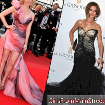 Special Cannes: Cheryl Cole and Elizabeth Banks or the return of meringue dresses!