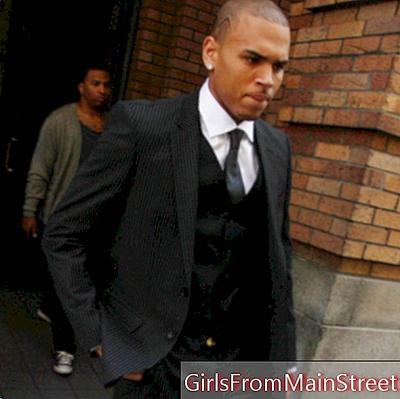 Chris Brown laundered in a hit and run case