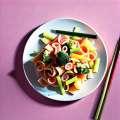 Ricetta: insalata di fagioli, peperoncino, zucchine e beaufort