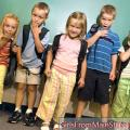 Verzoening van kinderen met hoofdrekenen