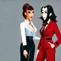 Флоп: Кто из Тильды Суинтон или Марисы Томей носит лучшие смоки?
